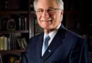 University President David R. Hopkins