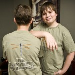 photo of boys wearing Dragonfly Tshirts