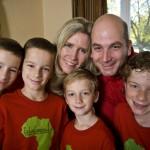 photo of the VanderWal Family in Dayton