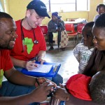 At every site, The Luke Commission assesses the health care needs of 600 to 1,000 people. A team of highly trained Swazis handles the preliminary triage, and Harry treats an average of 450 patients per day.