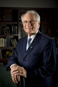 portrait of President David Hopkins