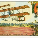 Roger Sommer (1877–1965), an exhibition pilot, flew 37 miles at the First International Air Meet in Rheims in 1909.