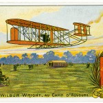 Wilbur Wright (1867–1912) and his brother Orville established the first pilot training school at Pau in southern France in 1909