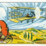 In July 1909, Germé completed a frail biplane based on the Wright brothers' design.