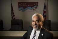16072 Bob Mihalek, Beavercreek Mayor Brian Jarvis 7-27-15