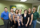 Photo of the Counseling and Wellness Services staff