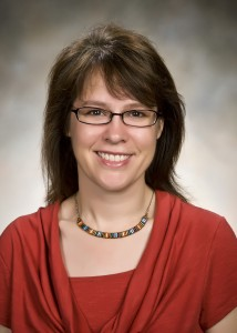 Photo of Kate Excoffon, Ph.D., teacher and scholar in the College of Science and Mathematics.