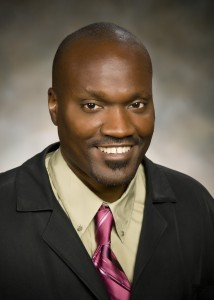 Photo of Opolot Okia, Ph.D., director of the African and African American Studies Program in the College of Liberal Arts.