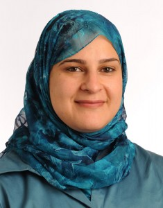International aid worker and author Manal Omar