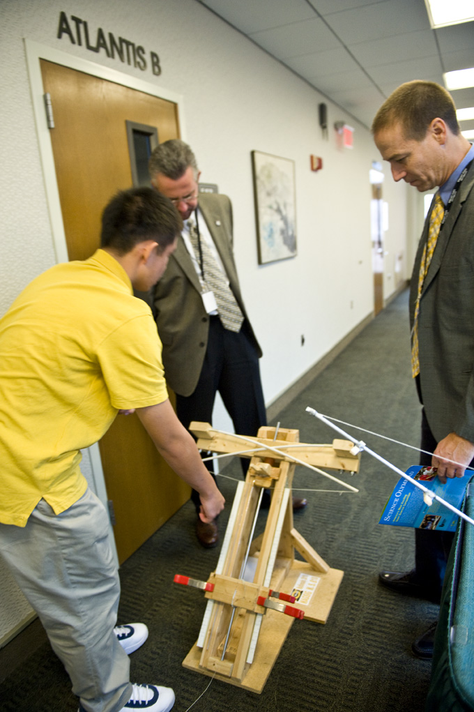 The invitational, which will feature science-related competitions in events ranging from Bottle Rockets to Battery Buggies, is a prelude to the National Science Olympiad Tournament that will be held at Wright State in 2013.