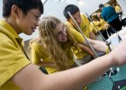 The Science Olympiad Invitational features competitions in biology, chemistry, earth science, astronomy, physics and technology.