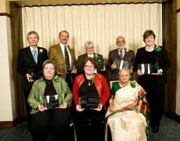 Wright State University alumni were honored on Saturday, Feb. 5, at the 11th Annual College Outstanding Alumni Awards presentation at the Wright State University Nutter Center.