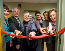 The Friendship Food Pantry at Wright State University opened on January 31.