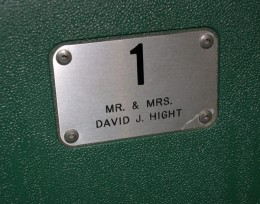 David Hight and his wife were original premium seat holders at the Wright State Nutter Center, but had to give the seats up when he moved to Detroit, Michigan to work for General Motors.