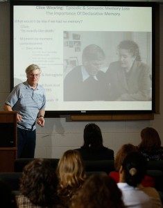"The 2011 Honors Institute featured a day-long symposium on the ""Intersections of Memory."""