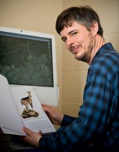 Professor Rooney and his graduate students are working to save the grey goral.