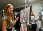 During the gala, fine arts students showed off their talents.