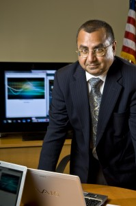 Photo of Vikram Sethi, Ph.D., director of Wright State University’s Institute of Defense Studies and Education.