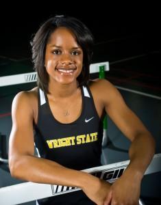 Photo of Wright State track star Cassandra Lloyd.