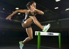 Photo of Wright State hurdler Cassandra Lloyd.
