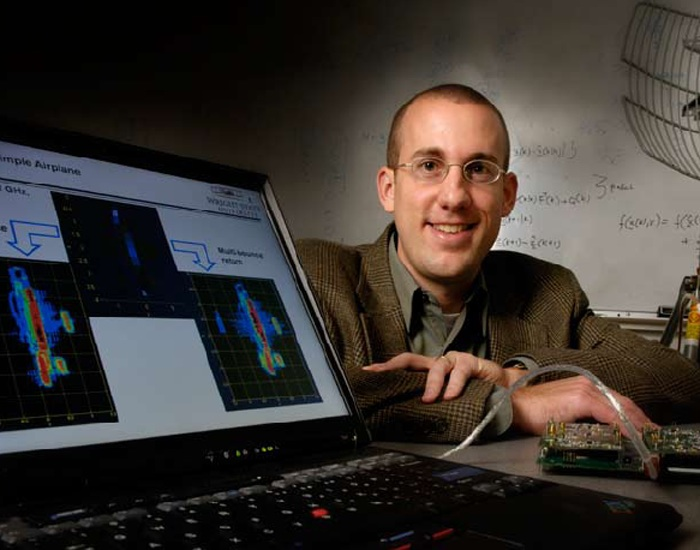 Photo of Brian Rigling, associate professor at Wright State's College of Engineering and Computer Science.