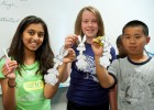 Photo of Sabrina Shams, Lauren Daylskie and Nathan Li in the Calling All Magicians camp.