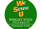 We Serve U logo