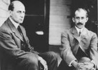 Photo of Wilbur and Orville Wright.