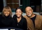 Photo of prospective Wright State student and her parents.