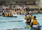Photo of the caneing event at the Wright State Natatorium for Adventure Summit.