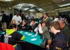 Photo of Wright State parents playing cards at Monte Carlo Night