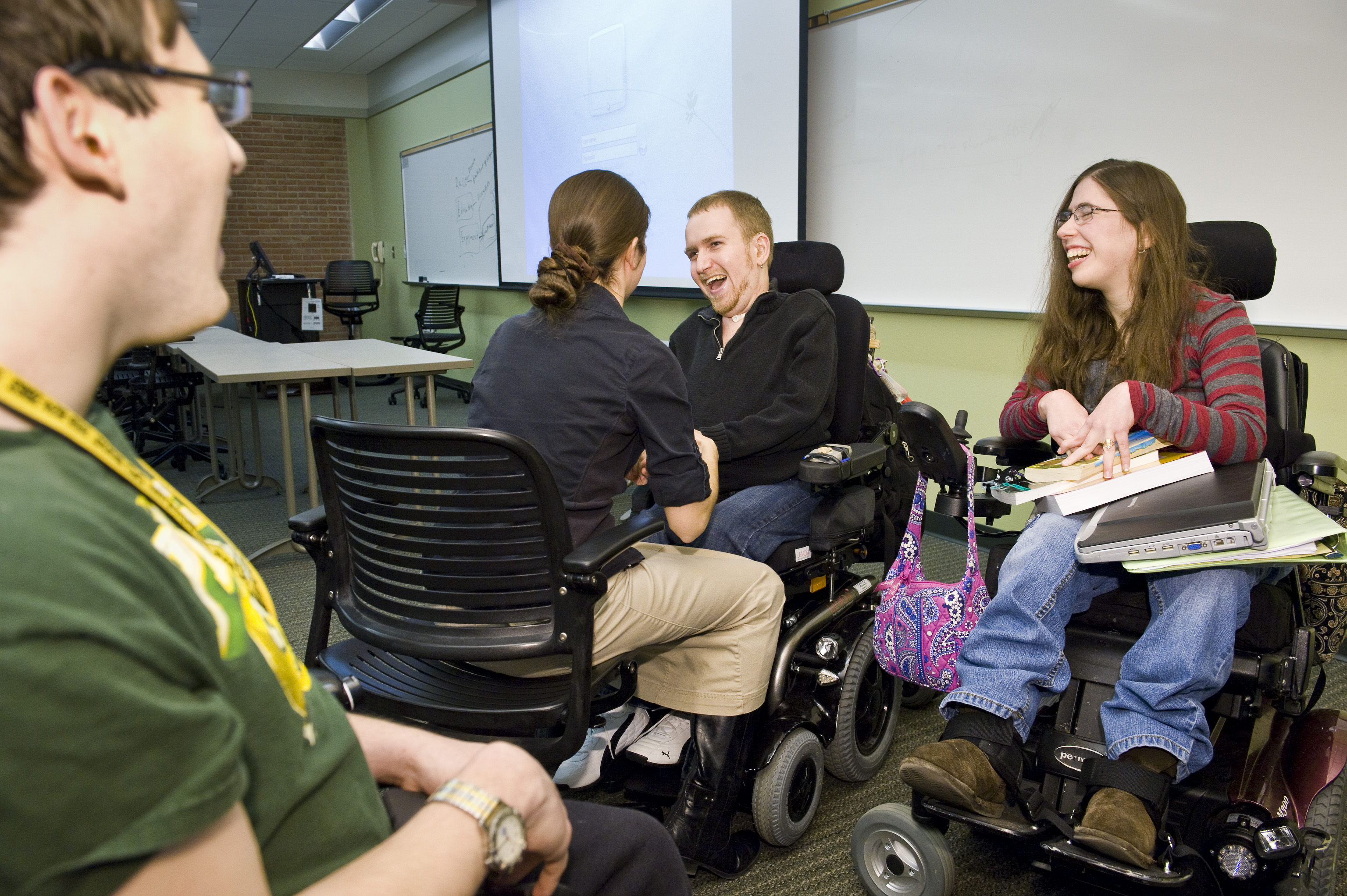 Classroom Design For Disabled Students : Wright state newsroom named one of nation s