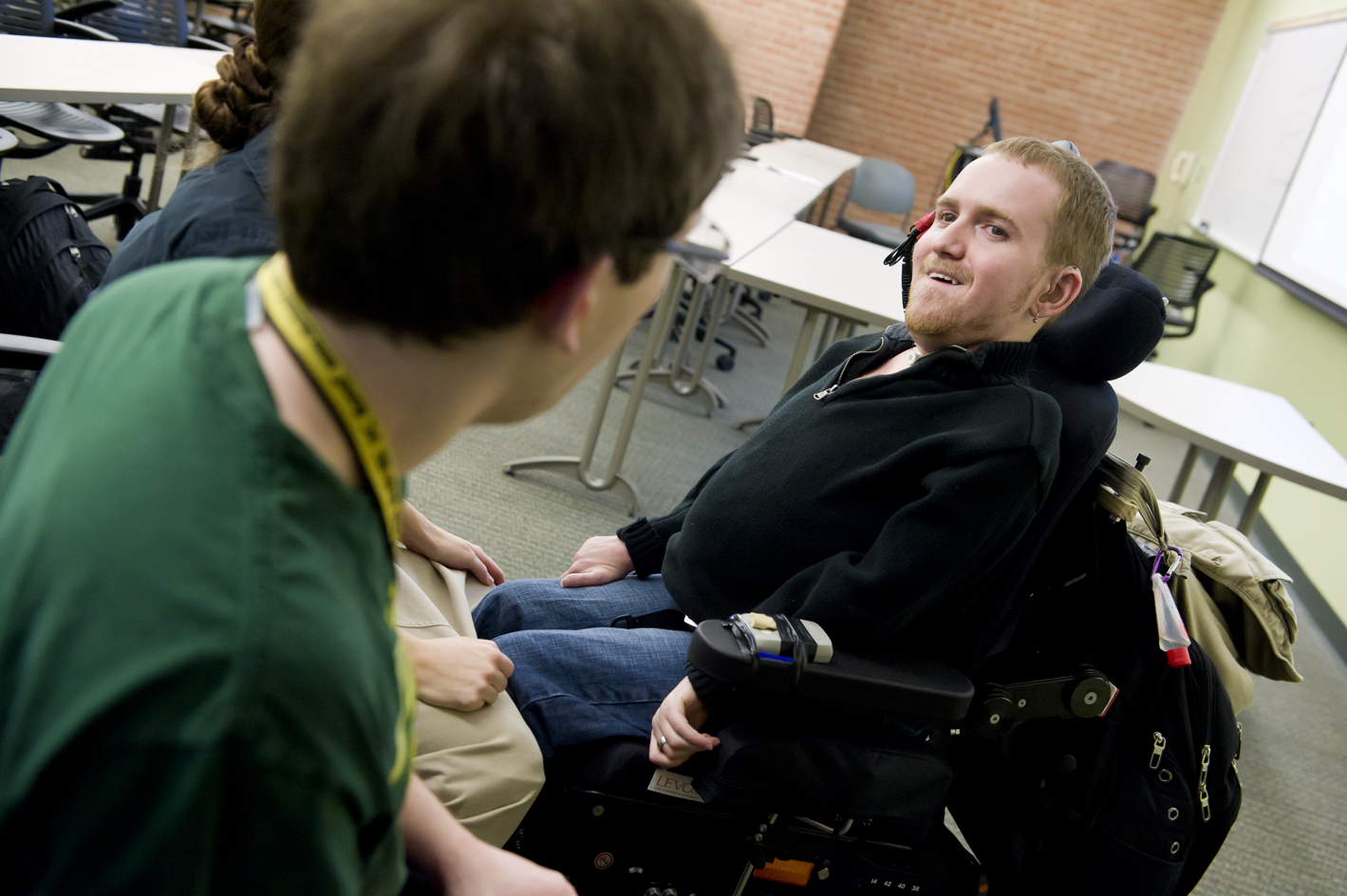 Photo of Wright State student Zach Holler.