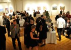 Photo of guests in the art galleries.