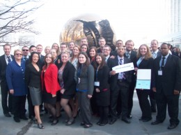 Photo of the 2012 Wright State Model UN team.