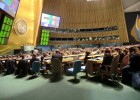 Photo of The 2012 Model UN conference at the United Nations in New York City.