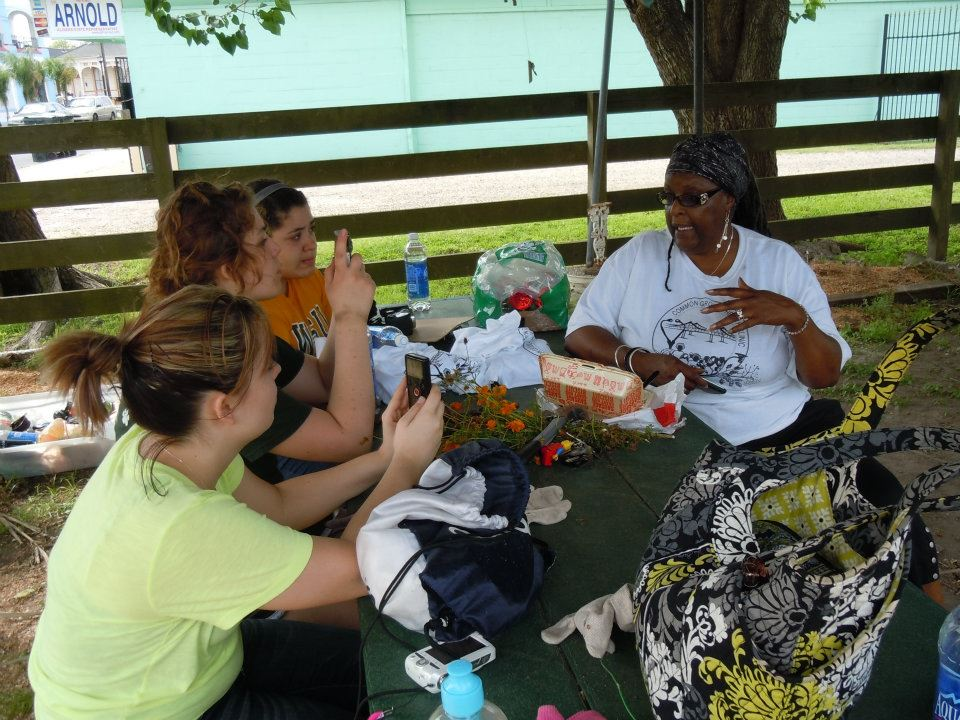 The trip was the culmination of a UVC service-learning class in which students studied the financial, social and psychological effects of Katrina on people and communities within New Orleans.