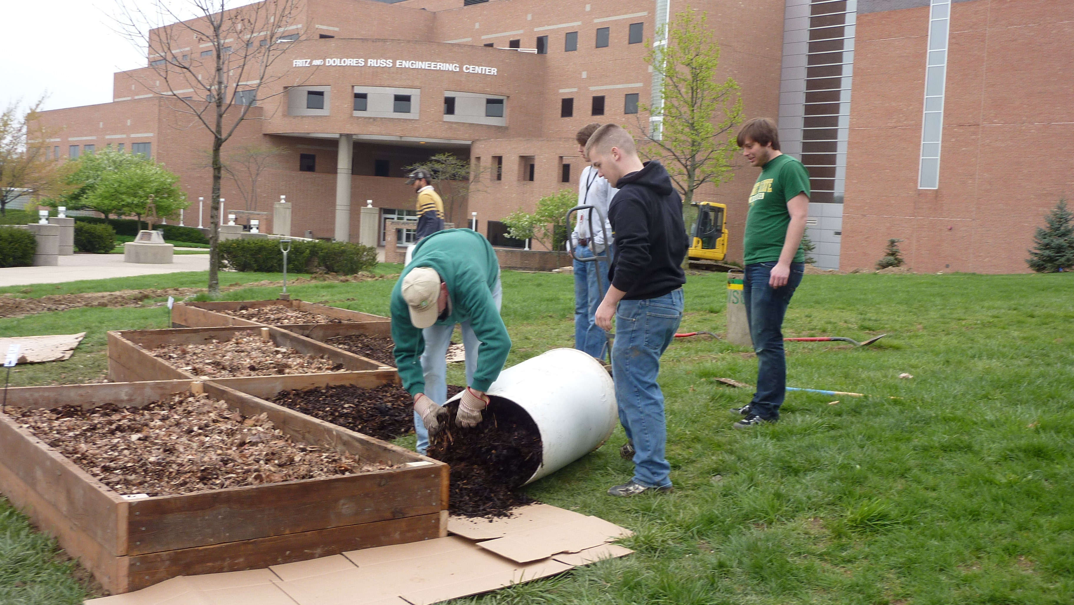 Campus community garden constructed, events to follow