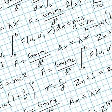 Photo of math equations