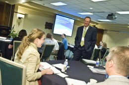Photo of participants at the First Annual Supply Chain Conferece.