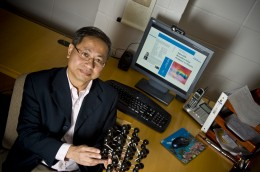 Photo of Dr. Lok Lew Yan Voon chair of the physics department at Wright State's College of Science and Mathematics.