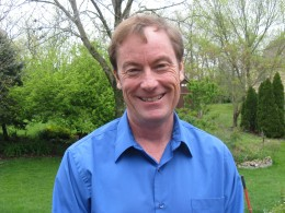 Photo of Wright State university statistics professor Thaddeus Tarpey