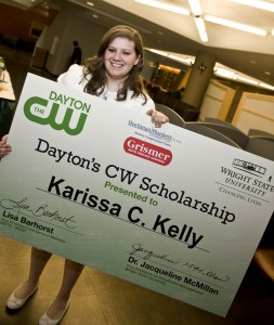 Photo of Karissa Kelly, the 2012 Dayton's CW Scholarship winner
