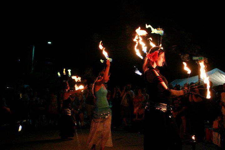 Photo of a Sould Fire Tribe performance.