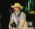 Photo of Jason Aldean performing at the Wright State University Nutter Center.