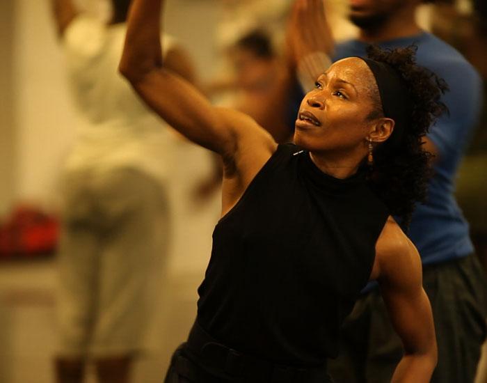 Photo of Sheri Williams dancing