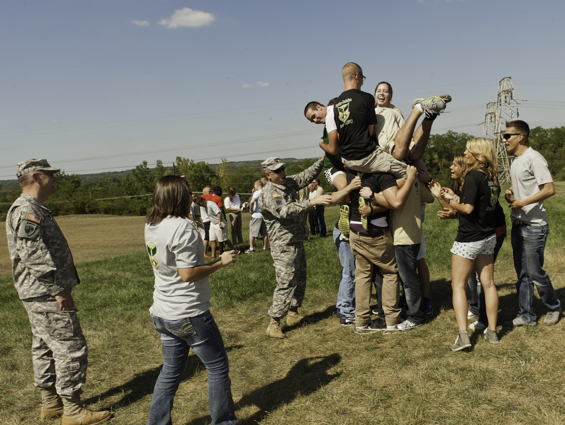 The Army ROTC hosted a picnic Aug. 29 to welcome the incoming cadets and the return of the current cadets into Wright States ROTC program.