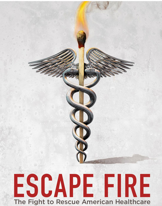 Escape Fire Theatrical Poster