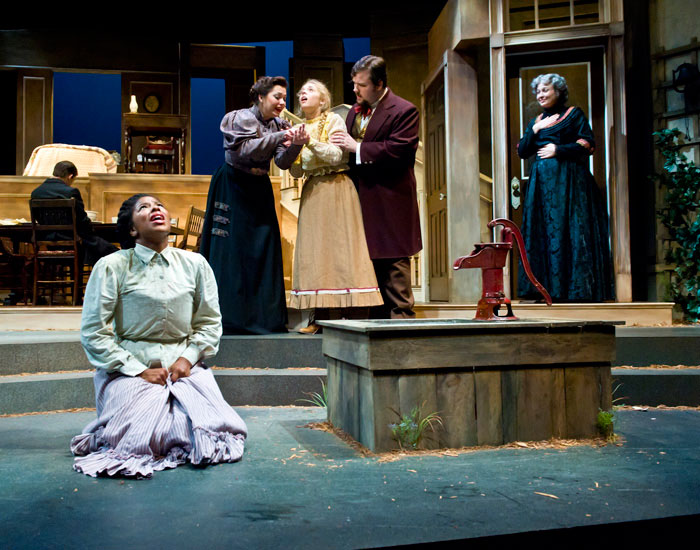 """Photo of a scene from """"The Miracle Worker"""""""