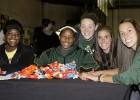 Wright State Raiders host Halloween Hoops, give candy to trick-or-treaters